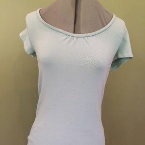 EUC Boden Wmn Tee Shirt 6 Mint Green Short Sleeve